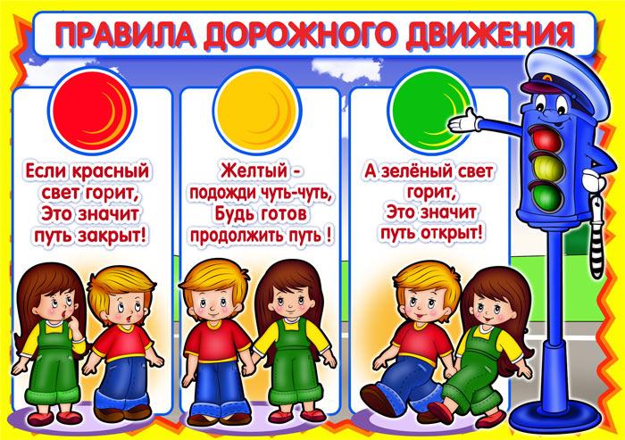 Правила дорожного джижения для детей